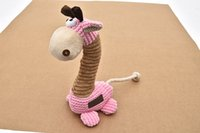 Wholesale Dog toy squeaky cm cm cm g for middle and bid dog durable good for teeth easy to clean