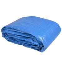 Wholesale 20 x Tarp Canopy Reinforced Tarpaulin Heavy Duty w Grommets Blue New