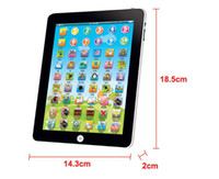 Wholesale 50pcs Newest Touch Screen Y Pad English Learning Laptop Computer Game Music Phone Learning Machine Baby Kids Educational Tablet Toy jy303