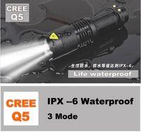 Wholesale Hot UK USA selling Drop shipping W LM CREE Q5 LED modes Flashlight Adjustable Focus Zoom flash Light Lamp
