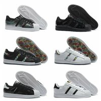Wholesale Hot High Quality brand Men s Originals Superstar II Lace Up sport Skate Shoes Women s Low Retro sneakers Size