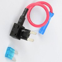Wholesale Car Vehicle Add A Circuit Fuse Tap Piggy Back Blade Fuse Holder M00070 CARD