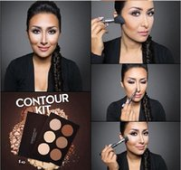 Wholesale stocking New Makeup Face CON TOUR KIT Bronzers Highlighters concealer cream power Colors Best Quality DHL