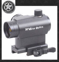 vector rifle scope - TAC Vector Optics Maveric Micro x22 Tactical Compact Red Dot Sight Scope with Quick Release QR Mount For Rifles Handguns Airsoft