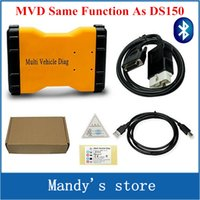 Cheap Newest Mulit Vehicle Diag MVD Bluetooth 2014.R3 R2 Same As Delphi DS150 TCS CDP Pro LED 3IN1 For Delphi DS150e Cars Trucks