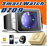 smart meter - Smartwatch Latest DZ09 Bluetooth Smart Watch With SIM Card For Apple Samsung IOS Android Cell phone inch Free DHL
