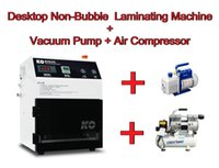 laminating machine automatic vaccum - Automatic Vacuum Non Bubble OCA Laminating Machine Air compressor Vaccum pump