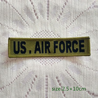 air force skirt - US Air Force Army Military Sew On Patch Shirt Trousers Vest Coat Skirt Bag Kids Gift Baby Decoration