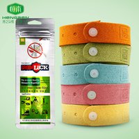 Wholesale Summer Children Baby Infant Anti mosquito Wristbands Mosquito Repellent Band Bracelets Pure Natural Botany Essential Oil Adjustable Rings