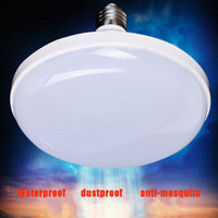 Wholesale 85 VAC High Power Waterproof LED Bulb E27 Screw Light Bulb Energy Saving Lamp Trend UFO Lights V Home Improvement Universal Lighting