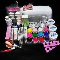 Wholesale Biutee Pro W UV GEL White Lamp Color UV Gel Nail Art Tool Kits Sets