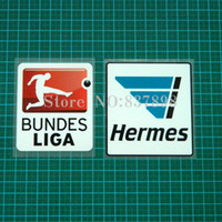 Wholesale bundesliga patch plastic is the size of the armpatch football patch badge pait