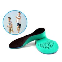 Wholesale 2016 EVA material Child orthotic insole children orthopedic shoes pad flat feet arch correction insole foot arch insole