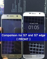 Wholesale Clone phone S7 Edge inch MTK6580 Quad Core M G show g lte Show G G camera android Smartphone Metal Body