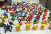 Wholesale 144 styles Poke Monster Toys Mini Figures Pikachu Action Figure Toy Best Gifts For Children cm