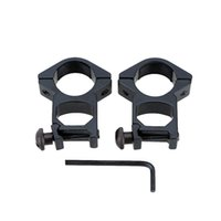 adjustable scope rings - 2pcs Tactical Adjustable Rail Mount mm Ring for Scope Flashlight Torch Rail Mount For Gun Red Dot Scope order lt no track