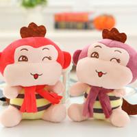 achat en gros de mariage poupée singe-Fabricants de vente Singe Bee Peluches en gros Poupées Doll Événements corporatifs mariage Brinquedos cadeaux géant Ours en peluche