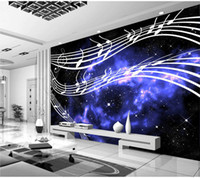 background music sounds - KTV television musical note sheet music background wallpaper murals living room bedroom study paper wallpaper