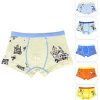 animated cans - high quality and comfortable breathable boy boxer briefs animated cartoon printing health can be close