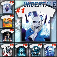 animal skeleton games - Hot Game Undertale My Skeleton Sans Casual Short Sleeve White T shirt Tee Top
