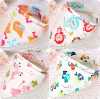 Wholesale 2016 kids Triangle Bib Bandana burp cloths Baby Cotton kerchief infant Saliva Bibs Pinafore Apron Baby Feeding
