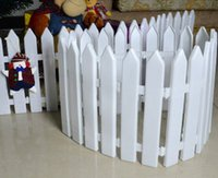 barrier stand - Christmas tree Decorations Pet barrier safety plastic PVC fence Children kindergarten christmas fence kids dinner party indoor decoration
