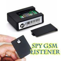 Wholesale N9 tracker GSM Realtime listener hidden earphones mini SPY ear bug sim surveillance device box