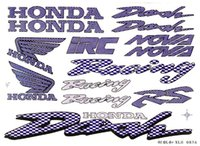 Wholesale the new small size personalized motorcycle bike car sticker waterproof high temperature resistant cm _
