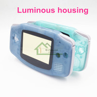 advance housing - Luminous Console Shell for Nintendo GBA Noctilucent Luminous Housing Shell Cover Case with Buttons for GBA Game Console