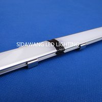 aluminium showcase - 30m m each ultra slim seamless connection led aluminium profile for showcase cabinet led bar housing for mm led strip QC2006