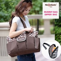 Wholesale New fashion Mes Enfants diaper bag waterproof nappy bag outdoor stroller travel Tote Shoulder mummy bag drop shipping coffee