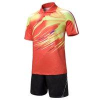 Wholesale mens table tennis clothes women badminton shirt table tennis shirt unisex badminton clothes sport training badminton shorts