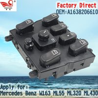 Wholesale Factory Direct Master Electric Auto Power Main Window Switch Apply for Mercedes W163 ML55 ML320 ML430 ML270