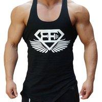Wholesale MMA boxing training vest breathable personalized letters big yards loose round neck sleeveless vest muaythai boxing clothing