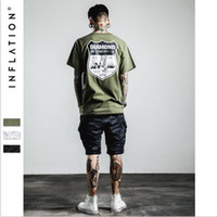 army inf - INF men s military summer wind shield tide brand men s diamond letters T shirt printing T shirt