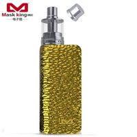Venta al por mayor: Máscara king (MK) DNA 75W chip de control de temperatura- Tibox75 Suite Productos DNA75W starter cigarrillo electrónico E-cigarette Gold Kits