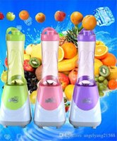Wholesale Mini Blender Safety Blender Mini Blender Hot Family Electric and Safety Blender Fashion Home Portable and More Color Blender