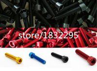 Wholesale 1pcs MTB M6 MM road Bike parts screws Headset Screw T6 Aluminum screw Bicycle Parts With Screw