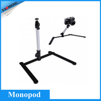 Wholesale 2015 New Camera Table Tripod Support Rig Stand Self Monopod Mount for DSLR Digital Camera Camcorder
