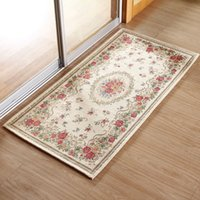area play - European Pastoral Rugs And Carpets For Home Living Room Soft Jacquard Acrylic Bedroom Area Rugs CoffeeTable Floor Mat Children Play Mat Hot