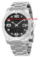 aerospace titanium - Luxury Wristwatch Fashion Watch Aerospace Evo Black Dial Titanium Men s Watch mm Quartz Mens Watch Watches