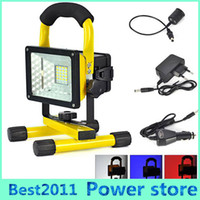 ac holding - 2016 NEW Modes hand held LED Floodlight W SMD waterproof IP65 Portable Rechargeable Cordless LED Work Emergency