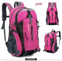 Wholesale waterproof mountaineering outdoor bags men women sport backpacks travel school bags boys girls bookbags