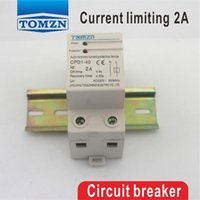 automatic circuit breakers - A V HZ W Din rail automatic recovery reconnect Current limiting protective device protector Circuit breaker