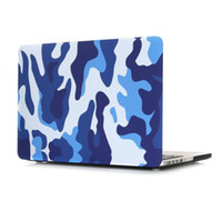 Wholesale For Apple macbook Air Pro Pro Retina Case inch Skin Protective Cover Fashion Army Camouflage Hard Shell