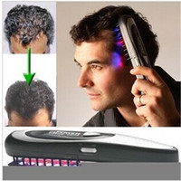 Wholesale Power Grow Laser Comb Kit Regrow Hair Loss Therapy Cure Restoration Comb Kit Hair Care Treatment Hairmax Laser Hair comb