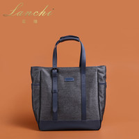 Wholesale Hot Genuine leather handbags first layer of cowhide Canvas messenger bags LG15