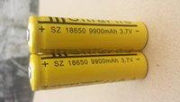 ba lot - 2Pcs V battery mAh Li ion Rechargeable Battery for Flashlight v rechargeable ba