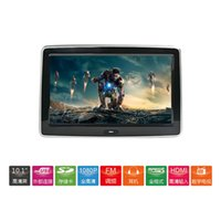 Wholesale 10 inch high definition full touch plug in head and rear screen display car rear entertainment television system mobile Internet