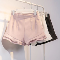 Wholesale 2016 Women s Fasion Clothing Summer casual sport shorts pants two piece set New Organza Coat Solid Color Short pants suit
